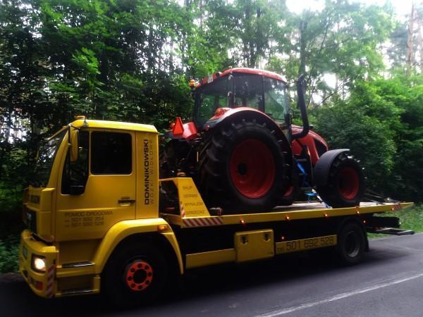 traktor na lawecie